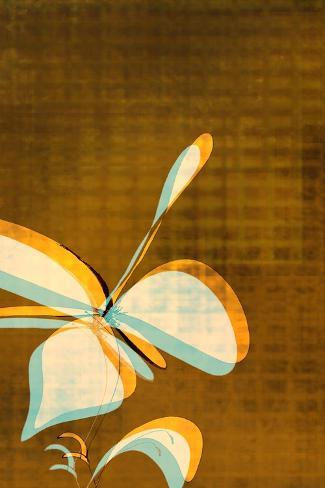 Espresso Floral Two Art Print