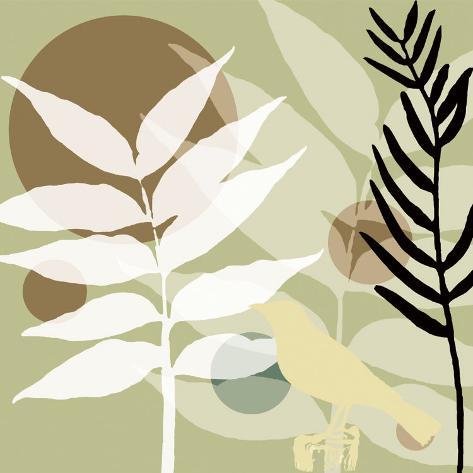 Organic Zen I Art Print