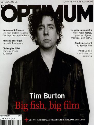 L'Optimum, March 2004 - Tim Burton Art Print