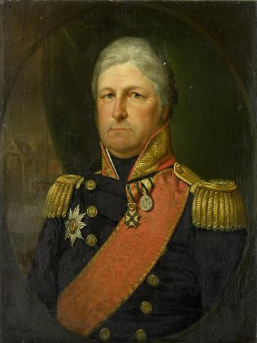 Portrait of Rear-Admiral Job Seaburne May Art Print