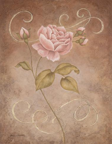 Pink Elegance I Art Print