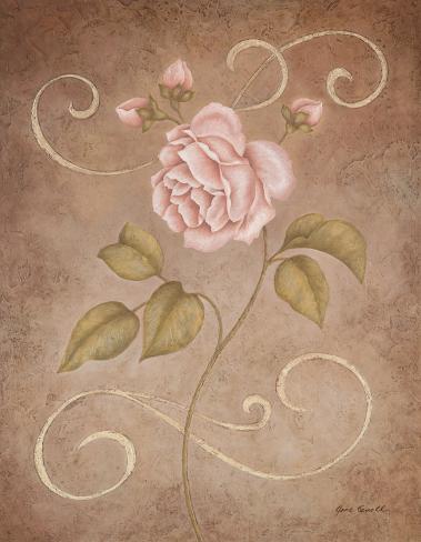 Pink Elegance II Art Print