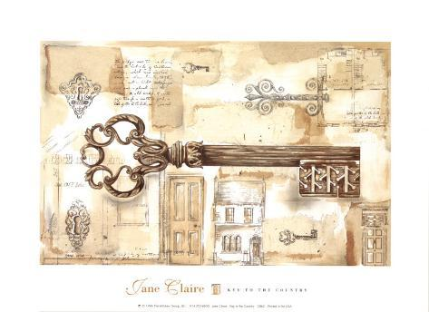 Key to the Country Art Print