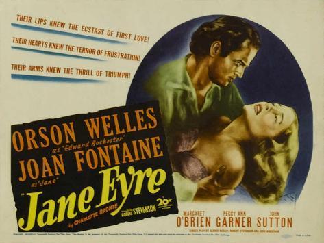 Jane Eyre, 1944 Art Print