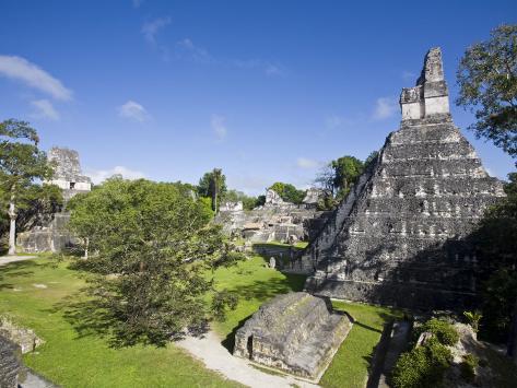 Tikal, El Peten, Guatemala Photographic Print