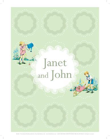 Janet And John Giclee Print