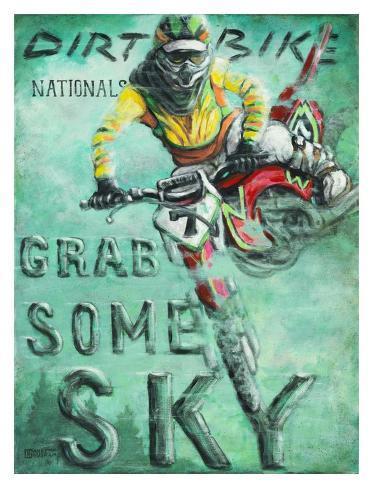 Grab Some Sky Art Print