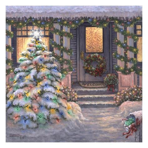 Welcome to Christmas Art Print