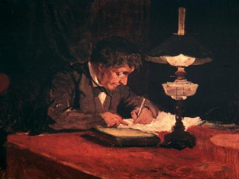 The Letter, 1878 Giclee Print