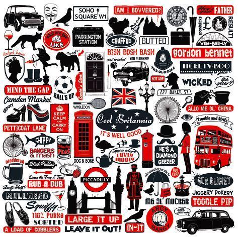 Cool Britania Art Print