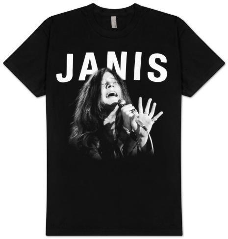 Janis Joplin - Janis Singing T-Shirt
