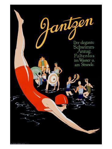 Jantzen Giclee Print