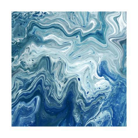 Indigo Minerals I Art Print