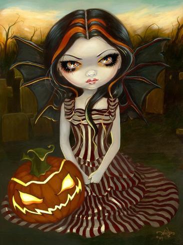 Halloween Twilight Art Print