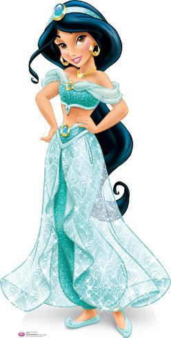 Jasmine Royal Debut - Disney Lifesize Standup Cardboard Cutouts