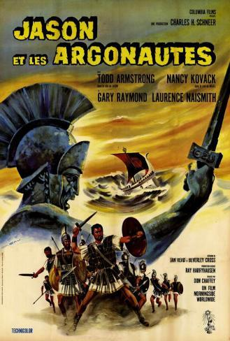 Jason and the Argonauts - French Style Poster