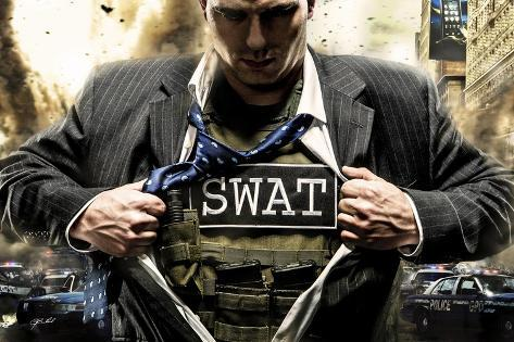Answering the Call Swat Giclee Print
