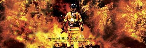 Fireman's Noble Call Giclee Print
