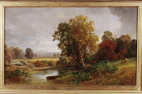 Autumn Landscape, 1882 Lámina giclée