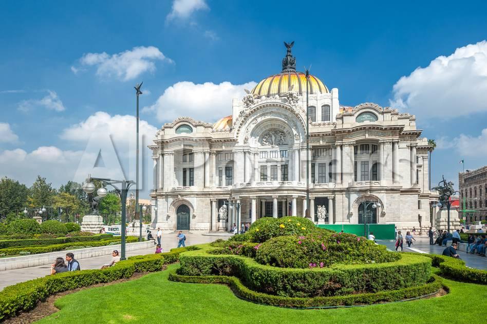 Palacio De Bellas Artes, Mexico City Lámina fotográfica por javarman ...