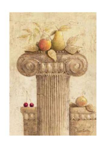 Capiteles con Frutas I Art Print