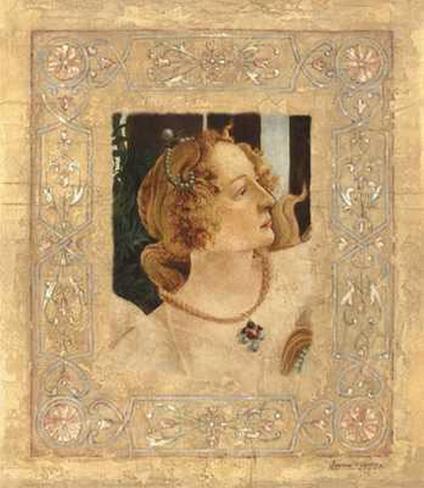 Hommage Abotticelli I Art Print