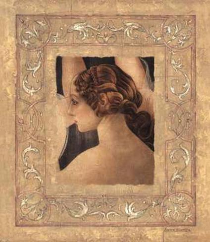 Hommage Abotticelli II Art Print