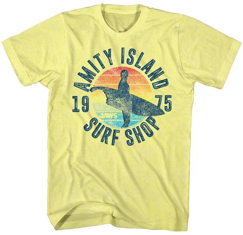 Jaws- Amity Island Surfshop T-Shirt - AllPosters.co.uk 855d050b7