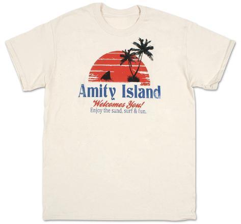 Jaws  - Amity Island T-Shirt