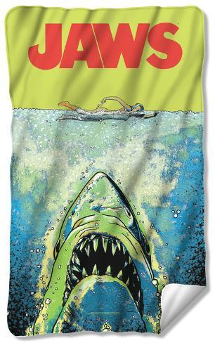 Jaws - Attack Fleece Blanket Fleece Blanket