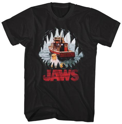 Jaws- Chasing The Orca Camiseta