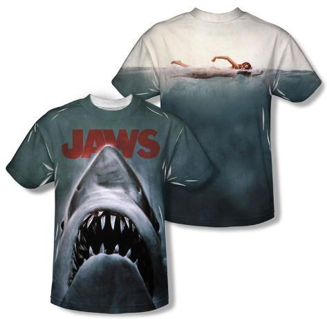 Jaws - Poster (Front/Back Print) Sublimated