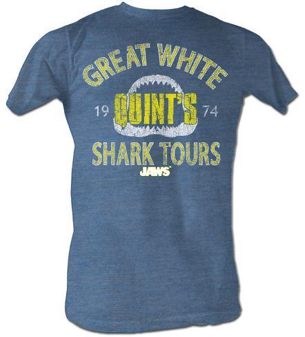 Jaws - Shark Tour Camiseta