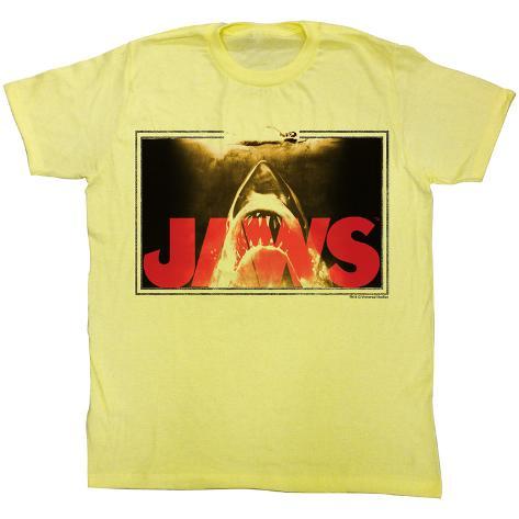 Jaws - Swim Lines Camiseta