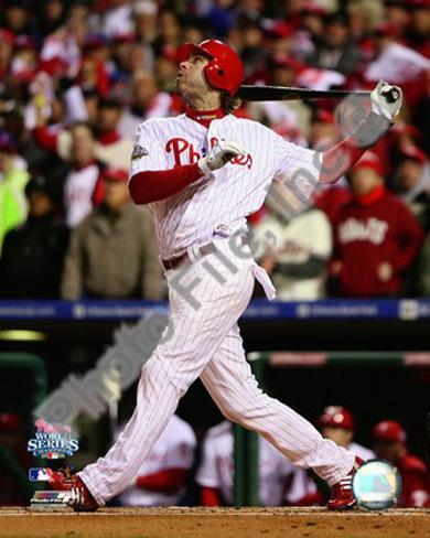 Jayson Werth Game 5 of the 2008 World Series Photo