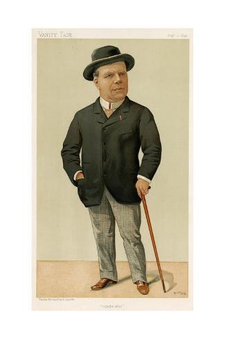 Constant Coquelin in 1893 Giclee Print