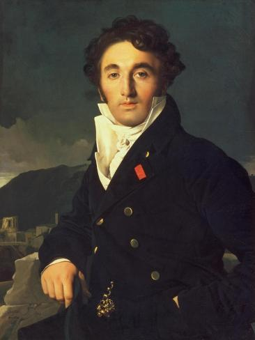 Portrait of Charles Cordier (1777-1870) 1811 Giclee Print