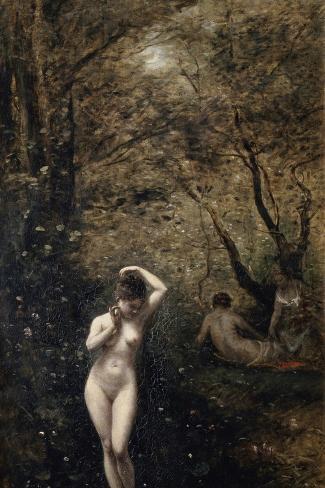 Diana Bathing, 1873-1874 Lámina giclée