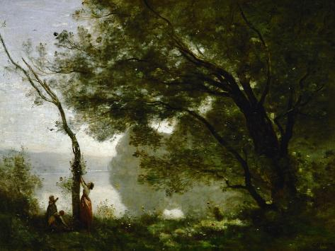 Memory of Mortefontaine, France, 1864 Giclee Print