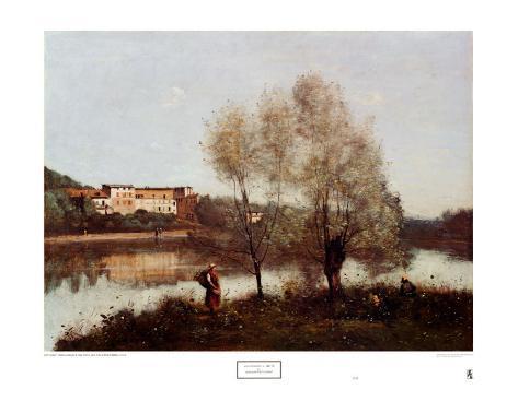 Ville d'Avray Art Print