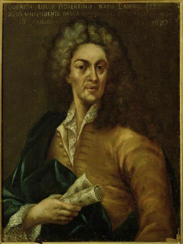 Jean-Baptiste Lully Lámina giclée