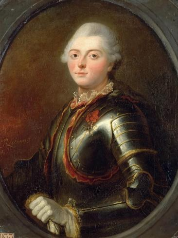 Charles Hector, Comte D\'Estaing (1729-179) Giclee Print by Jean ...