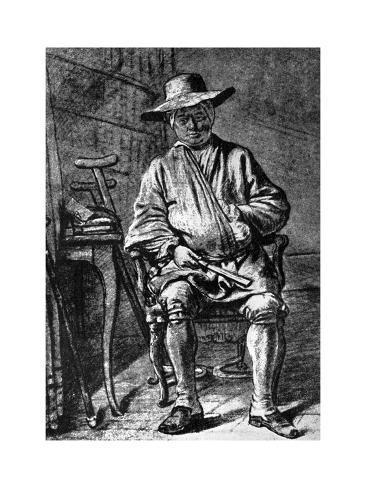 Jean-Simeon Chardin, French Artist, 18th Century Lámina giclée