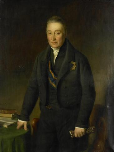 Portrait of Count Adam-Francois-Jules-Armand Van Der Duyn Van Maasdam Art Print