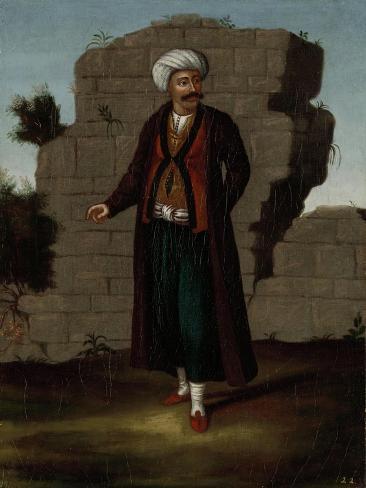 Man from the Island of Mykonos Art Print