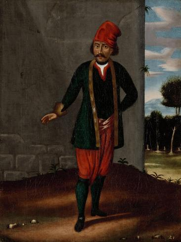 Man from the Island of Tinos Premium Giclee Print
