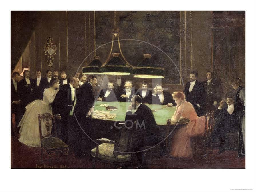 The Gaming Room At The Casino 1889 Giclee Print Jean Beraud Allposters Com