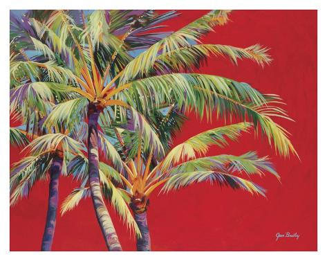 Fire Palm Art Print