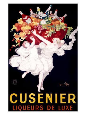 Cusenier Liqueur Giclee Print