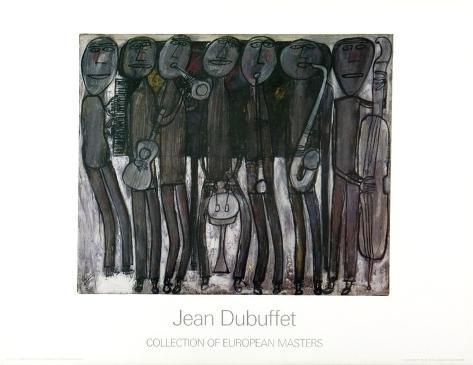 New Orleans Jazz Band Art Print